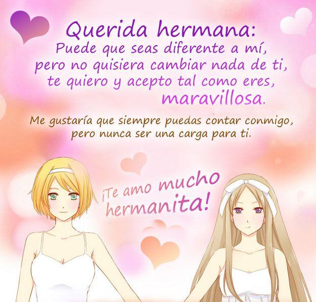 FRACES DULCE PARA UNA MADRE | Frases para una hermana con imagenes bonitas « Frases de Amor ...