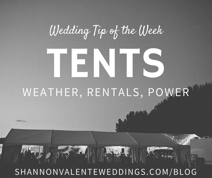So you want to have a tent wedding?  Wonderful, we LOVE tent weddings!  However, there are a few things to keep in mind when hosting a tented affair.1) Weather - There are so many variables when dealing with an outdoor wedding in Calgary; rain, sun, snow, hail, can all happen on the same day,…