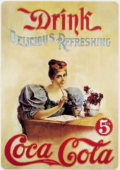 Coca Cola Vintage Ad 3