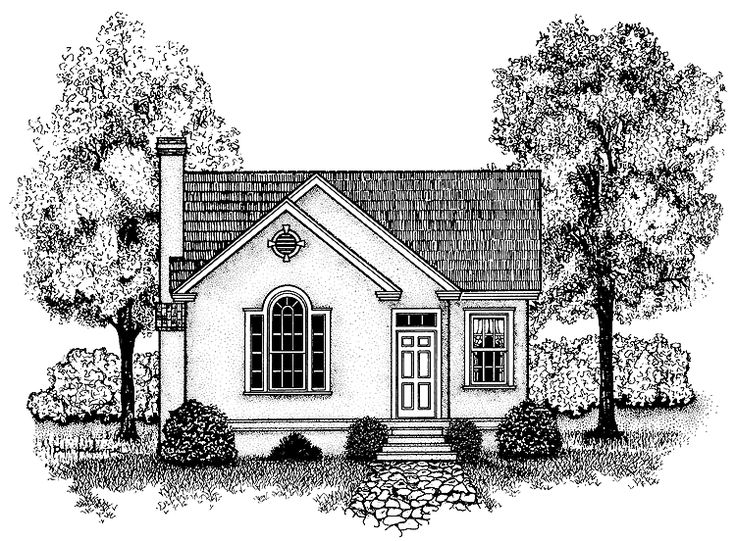 Build your ideal home with this cottage house plan with 2 for Eplans cottage house plan