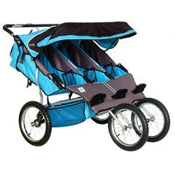 @Overstock - Get your little ones around town in style with this BeBeLove Triple Jogging Stroller. This amazing jogger features large fixed wheels for running with ease, and safe, comfortable seats for up to three kids.http://www.overstock.com/Baby/BeBeLove-Aqua-Triple-Jogging-Stroller/5174231/product.html?CID=214117 $429.99