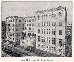Université de Montréal — Wikipédia vers 1895