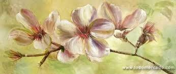 Αποτέλεσμα εικόνας για pinturas abstractas de flores