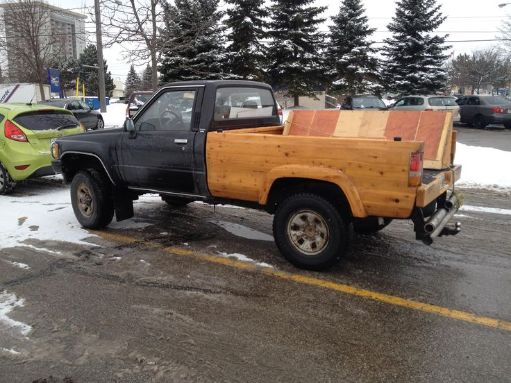 Images about wood pickup beds on pinterest truck