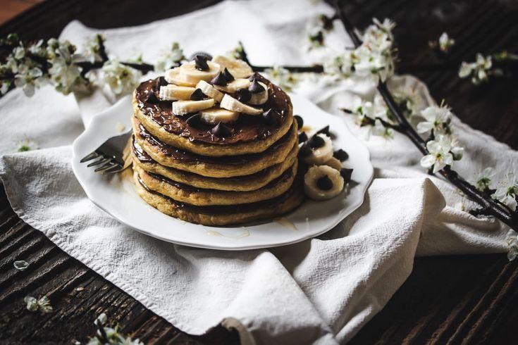 Glutenfreie Zimtbrötchen-Pfannkuchen | Einfach zu machen und eine köstliche Art, …   – Recipes – Breakfast