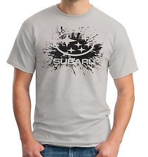 Subaru Splat T-Shirt WRX STi Outback Car Racing Shirt 3 Color Choices