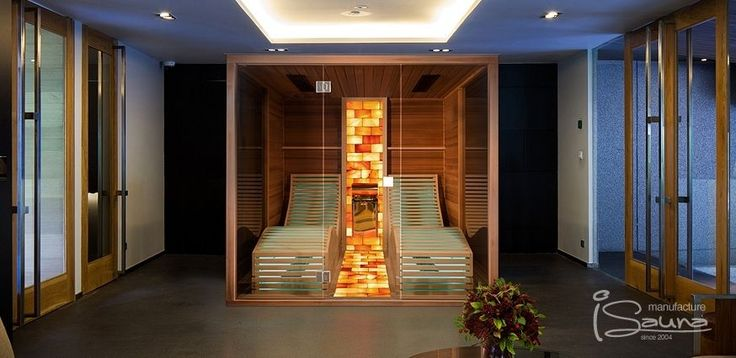 This bio sauna combines the pleasure of steam with Himalayan salt therapy so their complex effects are reached by boosting the healing and relaxing power of the other. The special functions are made complete by six Philips Vitae – Dr Fischer infrared radiators that help us enjoy the benefits of infrared sauna.