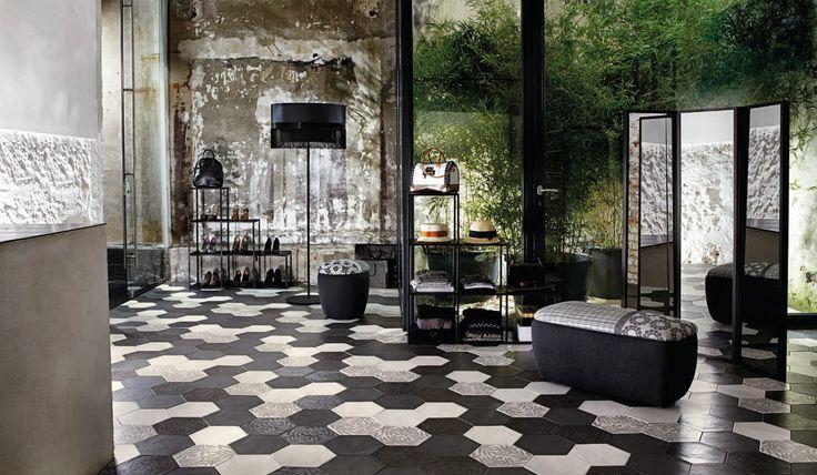 ceramic hexagons