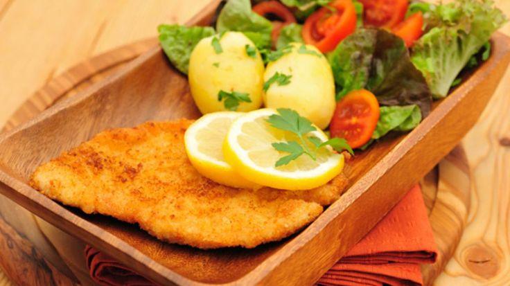 Zwitserse schnitzel (van kip)