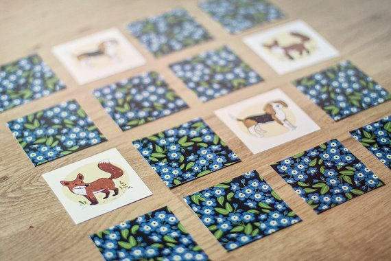 Memory Game by JeanBalogh on Etsy