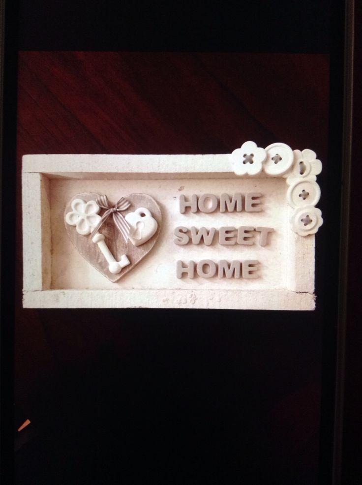 Lettere,cuore,chiavi e bottoni realizzati tutti in polvere di ceramica