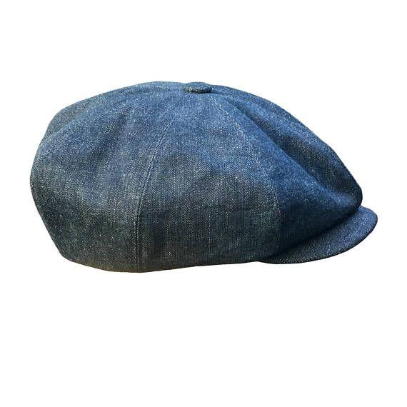 953d114fd Denim Peaky Blinders Bakerboy Paperboy Newsboy Flat Cap Hat | Peaky ...