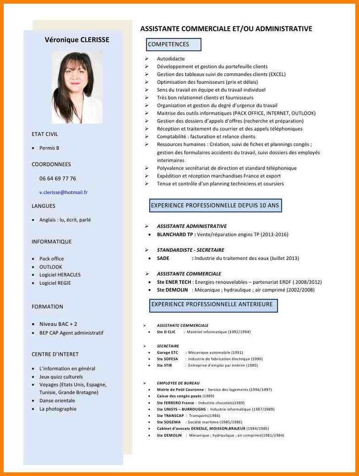 Épinglé sur CV