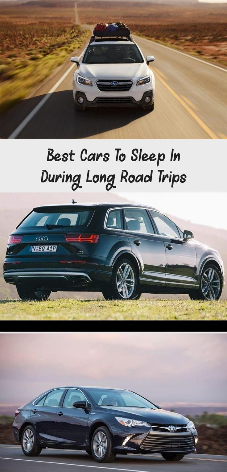 To hit the roads for a long trip, you will need a spacious