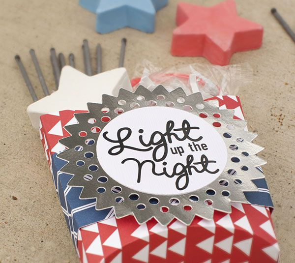 A Cute Favor Box For Your 4th Of July Party Cricut