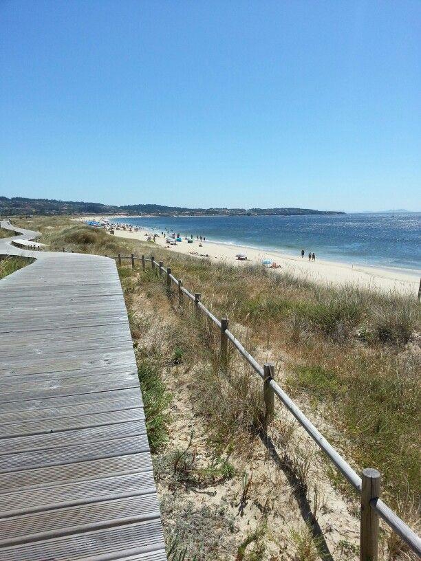 Playa de A Lanzada, península de O Grove #Riasbaixas. Galicia. Spain  Spain ...
