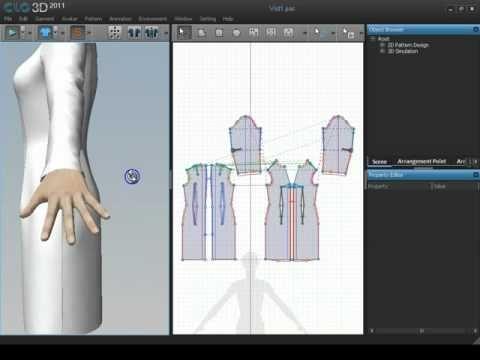 3D-моделирование одежды - YouTube