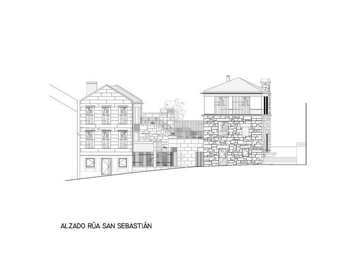 O proxecto consiste na rehabilitación de dous edificios no Casco Vello Alto de Vigo, contribuíndo deste xeito a revitalizar a zona máis antiga da cidade.