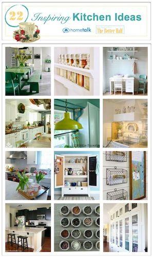 22 Inspiring Kitchen ideas - OPC The Better Half and Hometalk