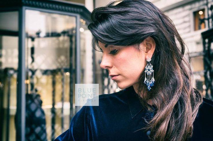 Sogni di #velluto... Orecchini INDIA, acquistali su >> http://goo.gl/XxUaaM #bluepointfirenze #bpf #jewels #orecchini — presso Centro storico di Firenze.