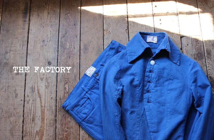 THE FACTORY 2015 SS BLUE
