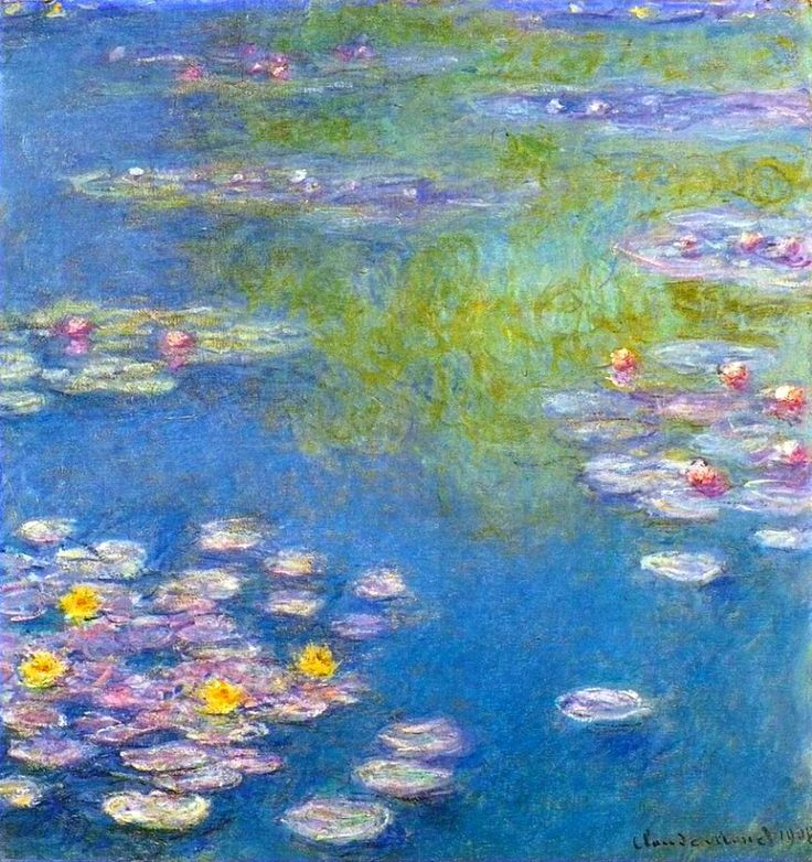 Claude Monet Water Lilies, 1908 painting outlet for sale, painting