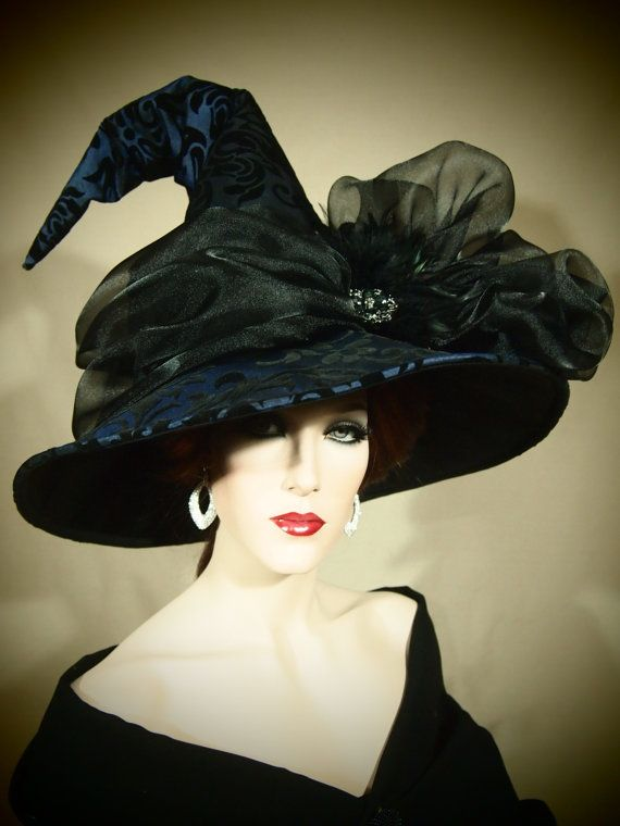 """Couture Witch Hat """"Chipple"""""""