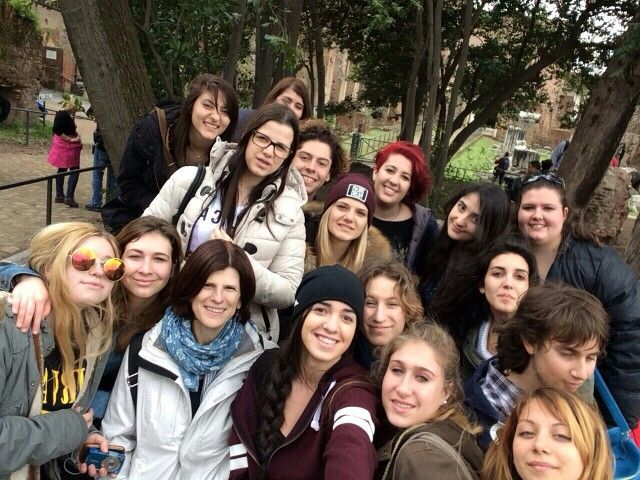 Classe 3B s.s.2014/15. Visita di istruzione a Roma.