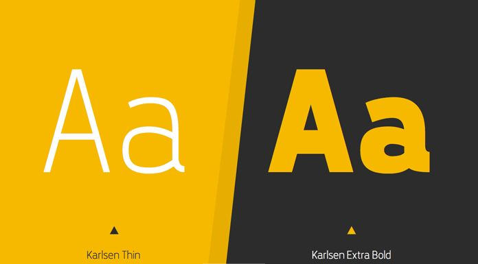 Karlsen Font Family from TypeUnion
