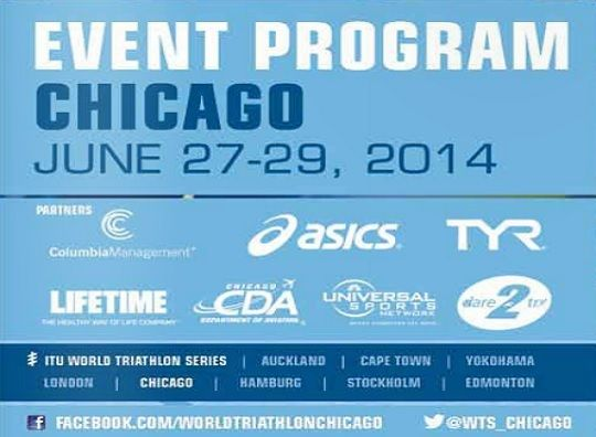 ITU world triathlon chicago here I come!