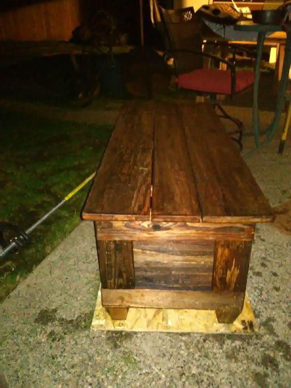 Rustic barnwood chest for Sale in Lake Stevens, WA | Barn ...