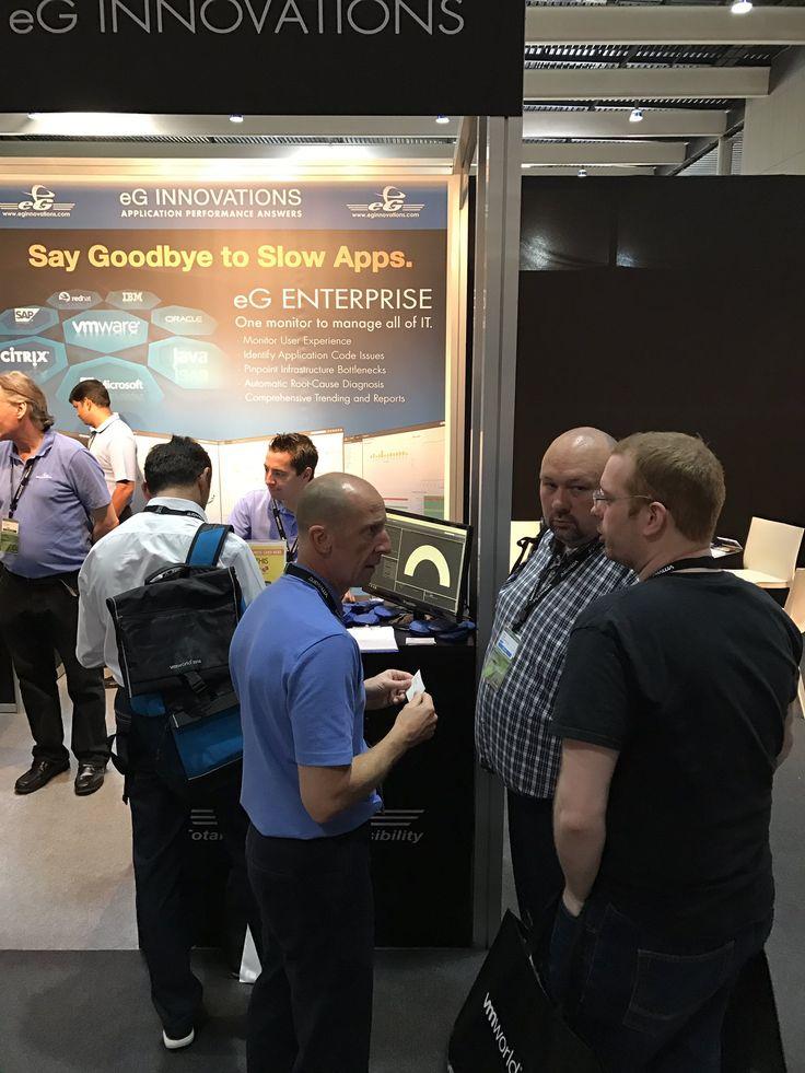eG Enterprise Product Demo at VM World 2016 Europe