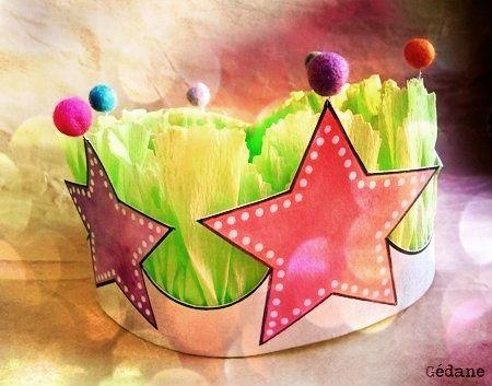 DIY : Crown / Couronne des reines et rois, princesses etc...
