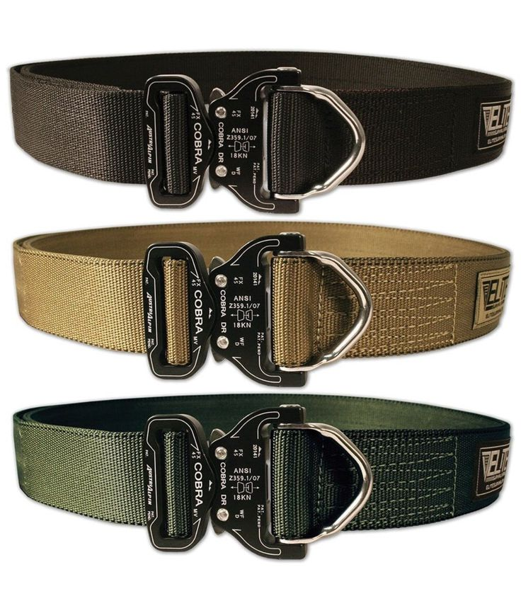 Elite Survival Systems. Cobra rigger's belt.