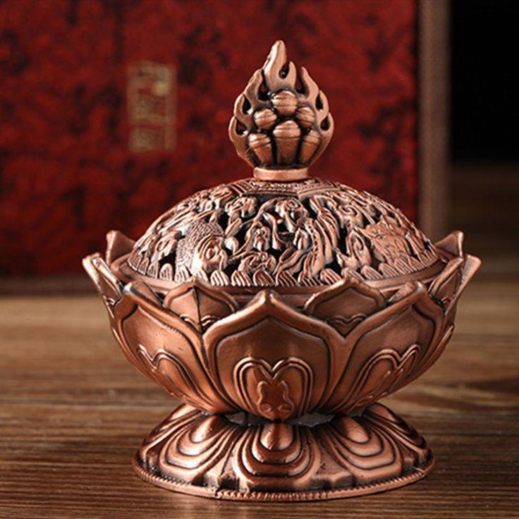 Tibetan Lotus Incense Burner
