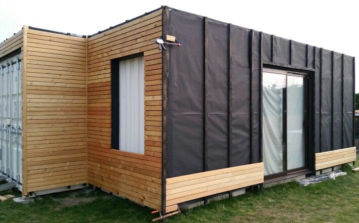 17 best images about architectainer deco on pinterest for Isolation container maritime