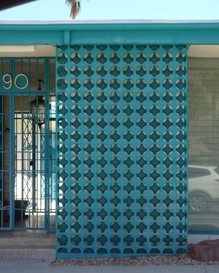 Mid Century Modern Wall Screens and Decorative Screen Blocks | Modern Design