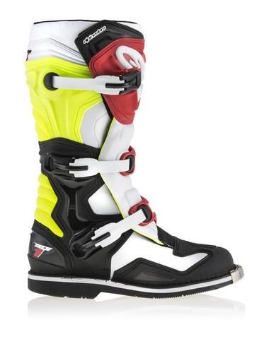 New 2017 Alpinestars Now Available New colours in the Tech 7 and Tech 1 along with a all new Tech 7s youth boot in four different colours.   #Alpinestars #youthboots #MXboots #ALPINESTARBOOTS