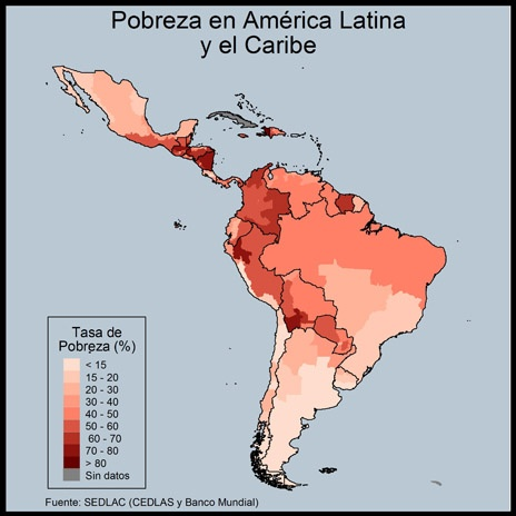 poverty in latin america Poverty is on the rise according to the latest social panorama report from the  economic commission for latin america and the caribbean.