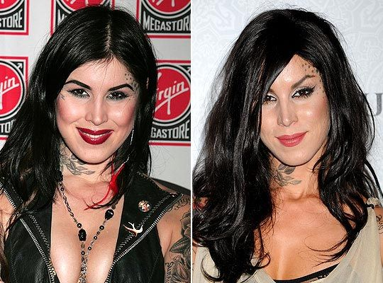 Kat Von D Plastic Surgery Before & After Look - http://plasticsurgerytalks.com/kat-von-d-plastic-surgery/