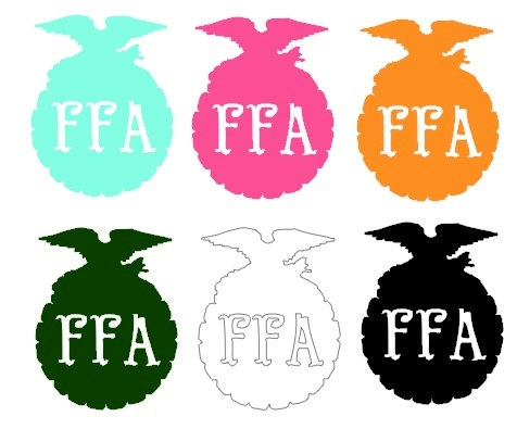 FFA Emblem Vinyl Car Decal
