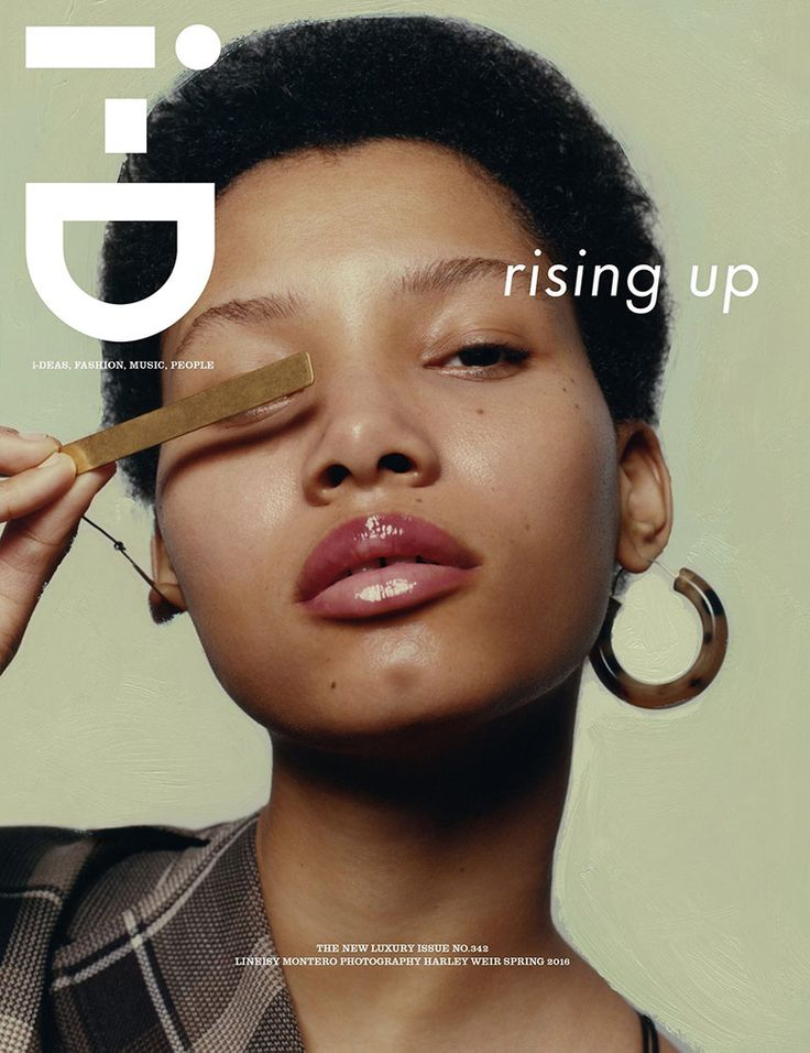 Lineisy Montero by Harley Weir for i-D Magazine Spring 2016 | The Fashionography