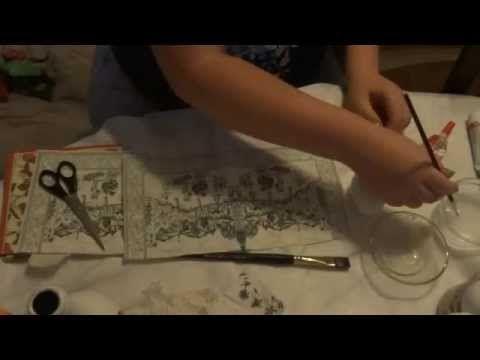 jajka pisanki w stylu deocupage/ easter egg decoupage - YouTube