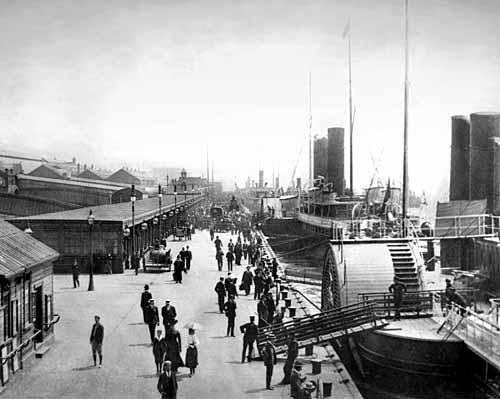 Liverpool Docks c.1890