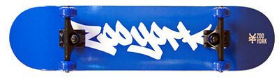 Skateboards-Complete 16264: Zoo York Skateboard Manhattan Series Blue Tag Complete 7.75 Maple -> BUY IT NOW ONLY: $59.95 on eBay!