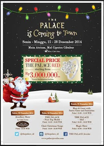 Special Price dari The Palace 15-28 Desember 2014