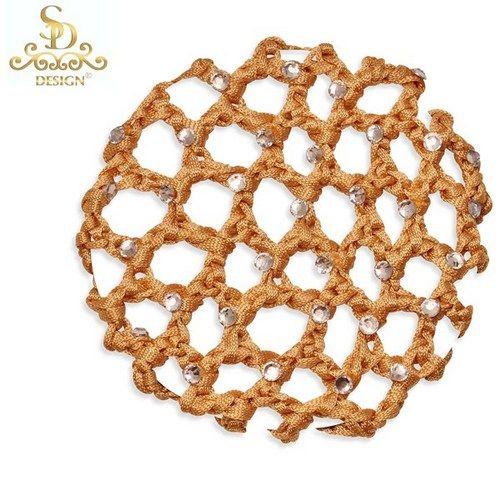 Strass Haarnetz Sd Design Kupfer Cr