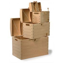 Base Toys houten piraten schatkist