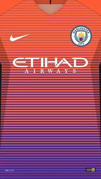 Manchester City 16 17 Kit Alternative Camisas De Futebol Uniformes Futebol Equipamento De Futebol