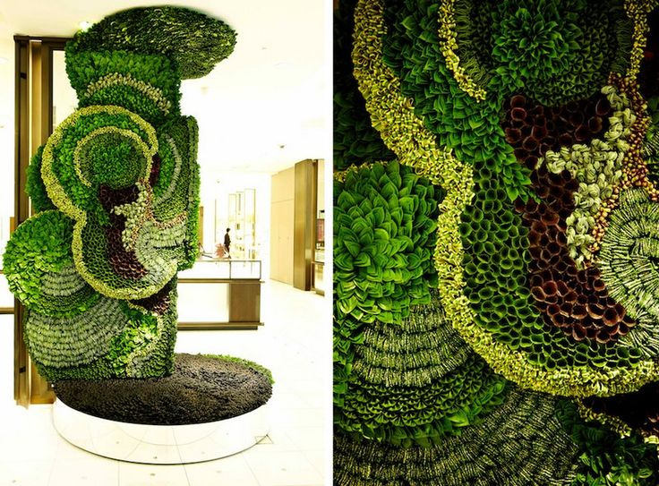 Isetan grand opening collapsible leaves (5)